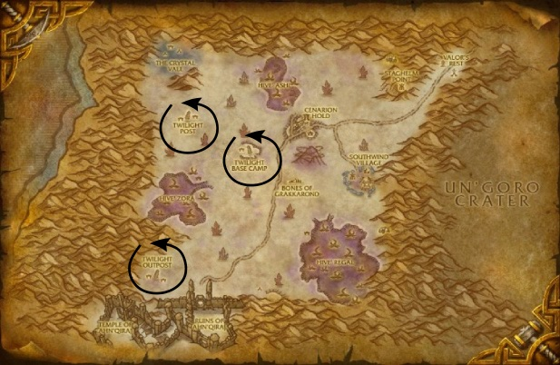wow how to get to the blasted lands from stormwind